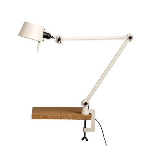Tonone Bolt 2 Arm Clamp bureaulamp-Pure white