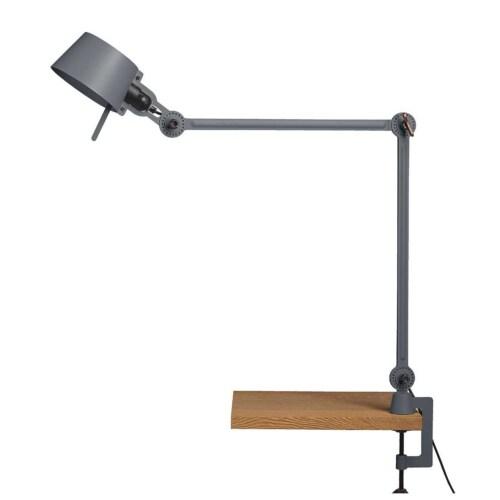 Tonone Bolt 2 Arm Clamp bureaulamp-Ash grey
