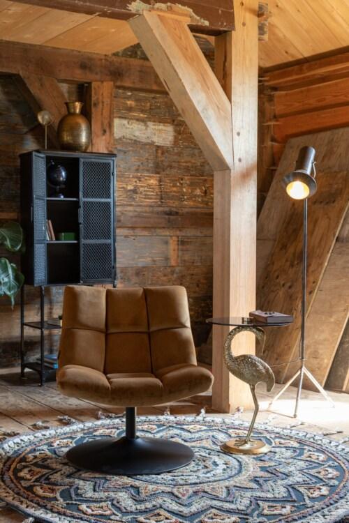 Dutchbone Bar Lounge Velvet-Goud