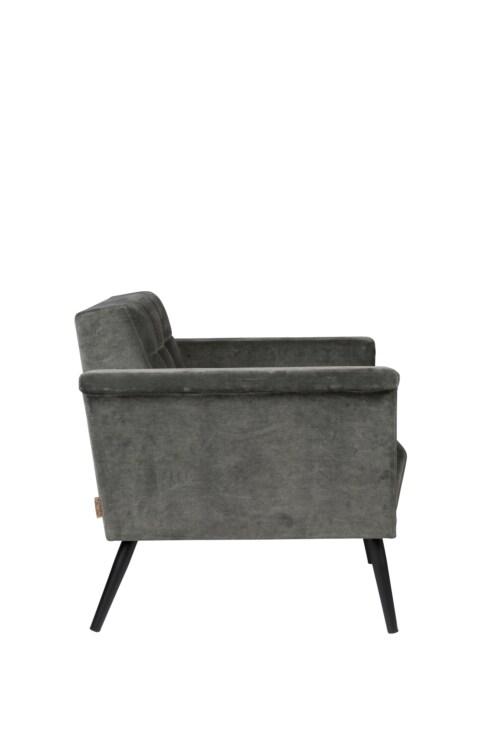 Dutchbone Sir William Lounge fauteuil -Vintage Grijs