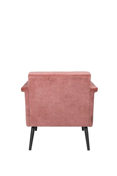 Dutchbone Sir William Lounge fauteuil -Vintage Roze