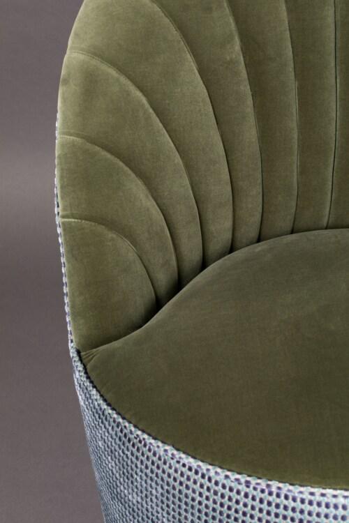 Dutchbone Madison lounge chair-Olive