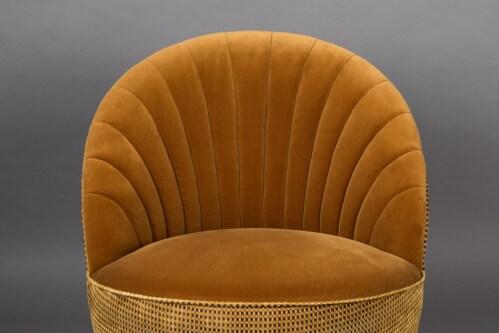 Dutchbone Madison lounge chair-Whiskey