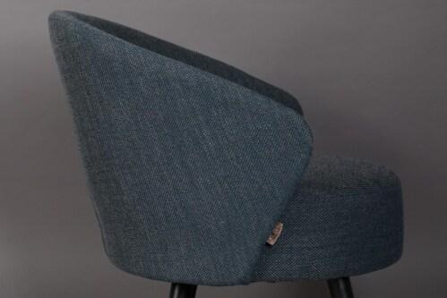 Dutchbone Waldo lounge chair -Blue