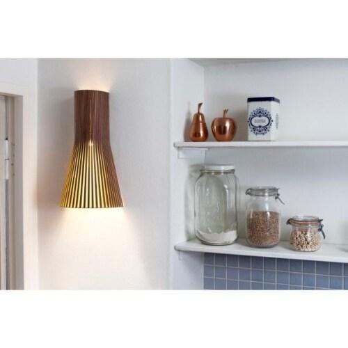 Secto Design 4231 wandlamp-Walnoot