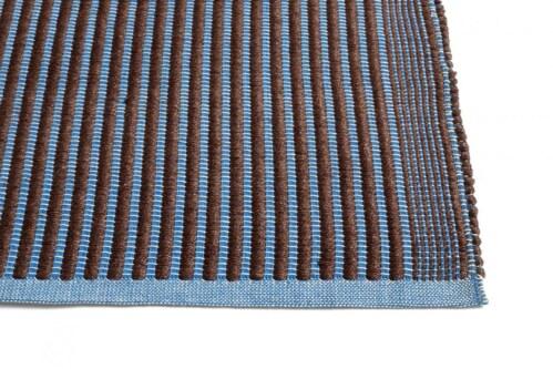 HAY Tapis vloerkleed-Chestnut and Blue-80x200 cm