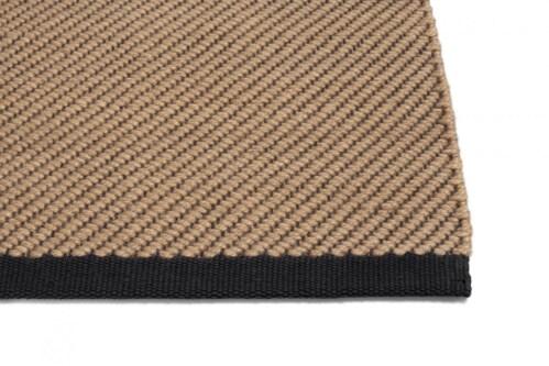 HAY Bias Rug vloerkleed-Cappuccino-80x200 cm