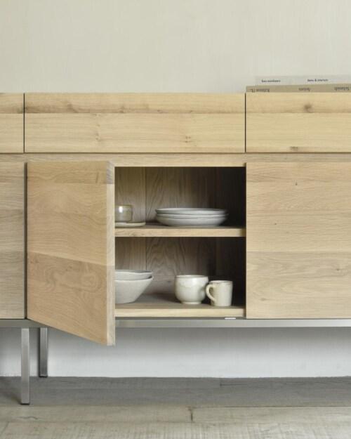 Ethnicraft Ligna Oak dressoir -4 deurs