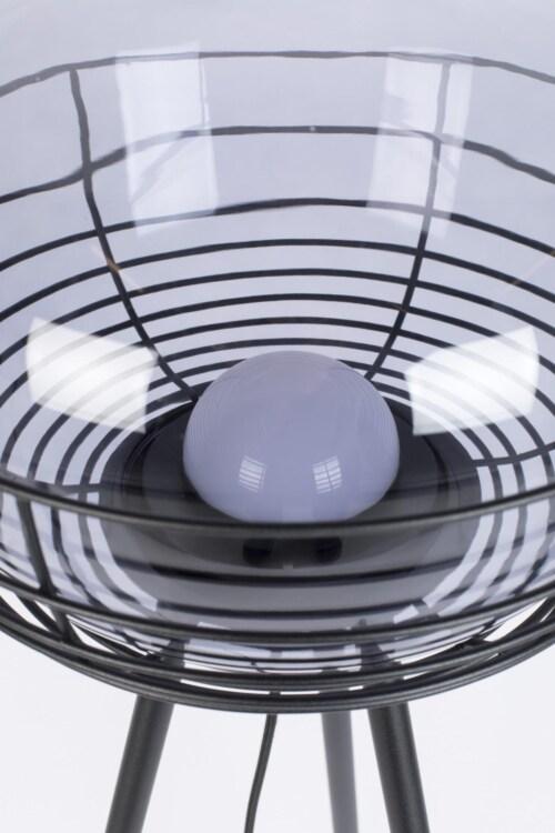 Zuiver Smokey Black vloerlamp