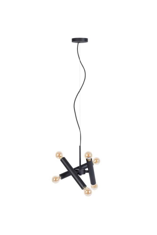 Zuiver Hawk Black hanglamp-Triple