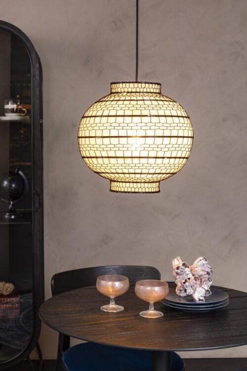 Dutchbone Ming hanglamp rond-∅ 35 cm