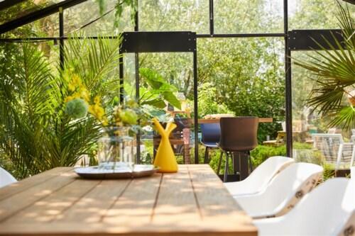 Hartman Sophie Yasmani Brown tafel-240x100 cm-Zwart