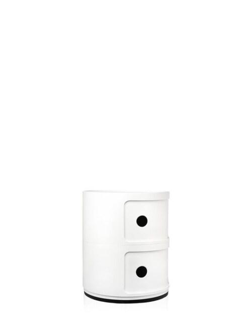 Kartell Componibili kastje -Wit-2 hoog