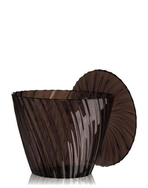 Kartell Sparkle krukje-Fume-∅ 45 cm