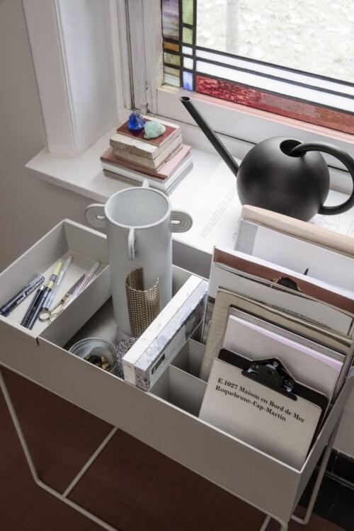 Ferm Living Plant Box Container-Zwart