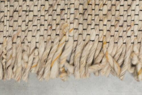 Zuiver Frills vloerkleed-Beige-geel