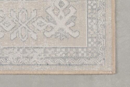 Dutchbone Mahal kleed-Grey/Liver-170x240 cm