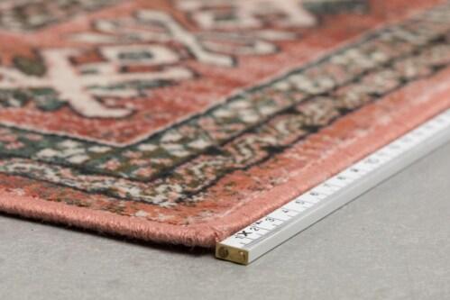 Dutchbone Mahal kleed-Pink/Olive-200x300 cm