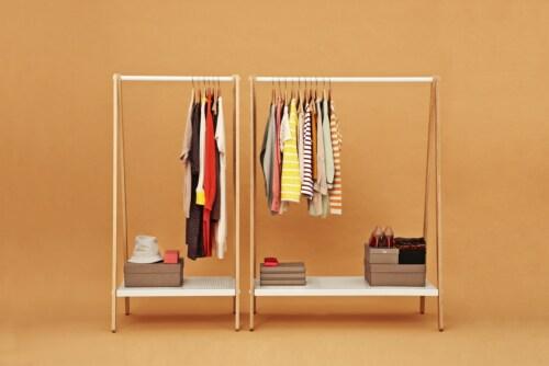 Normann Copenhagen Toj Clothes Rack-Wit-Large