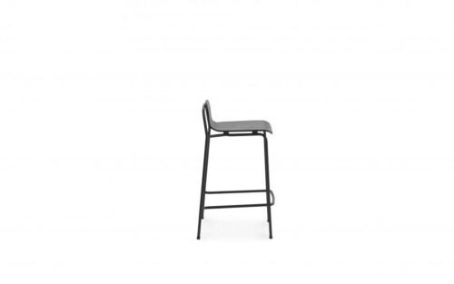 Normann Copenhagen Studio barkruk-Black-Zithoogte 65 cm