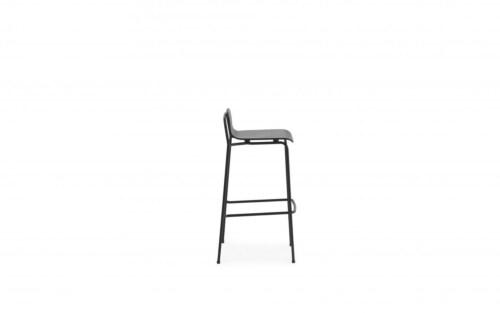 Normann Copenhagen Studio barkruk-Black-Zithoogte 75 cm