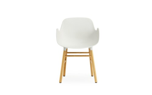 Normann Copenhagen stoel Form armchair eiken-Wit