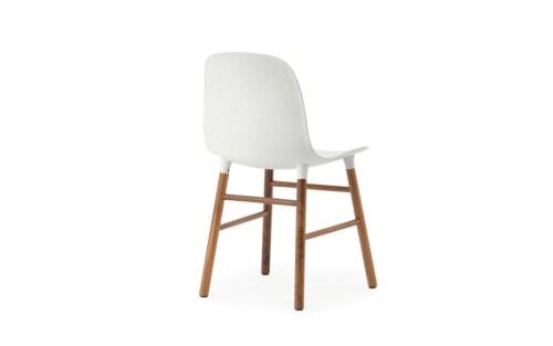 Normann Copenhagen Form Chair stoel noten-Wit
