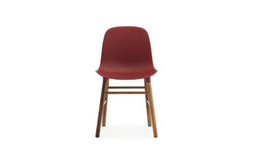 Normann Copenhagen Form Chair stoel noten-Rood