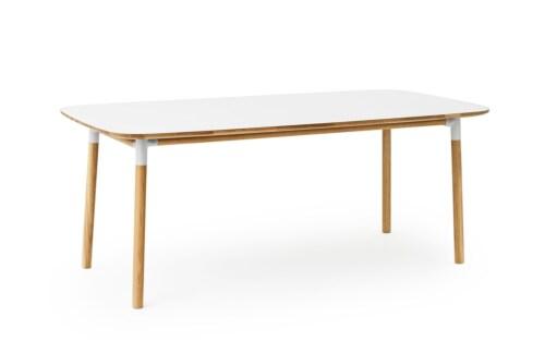 Normann Copenhagen Form tafel-200x95 cm-Wit
