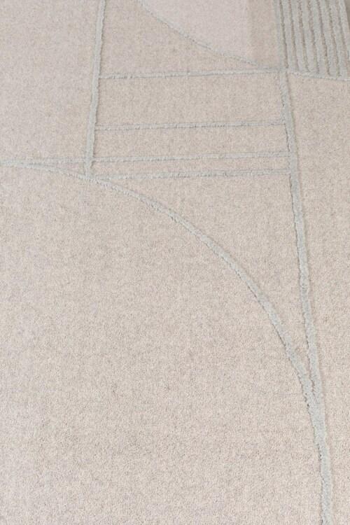 Zuiver Bliss vloerkleed-Grijs/blauw-160x230 cm