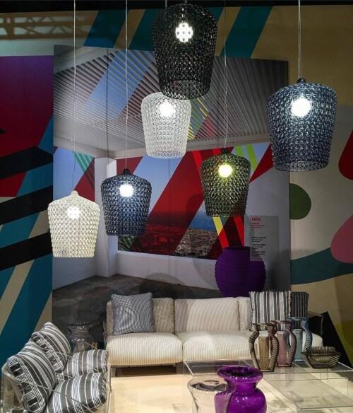 Kartell Kabuki hanglamp-Kristal