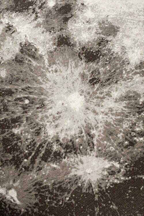 Zuiver Moon vloerkleed-Stone grey-Ø 280 cm
