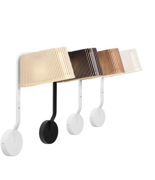 Secto Design Owalo 7030 wandlamp-Wit