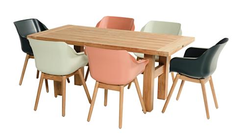 Hartman Yasmani Natural Teak tafel-180x95 cm