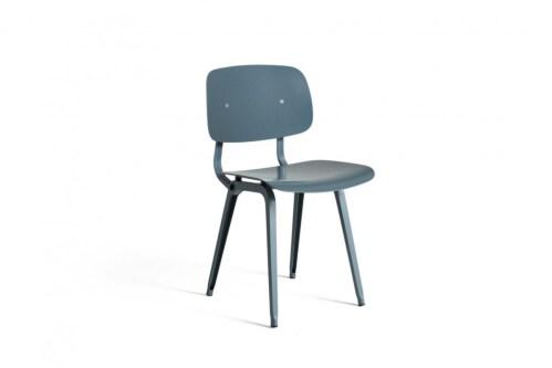 HAY Revolt stoel gepoedercoat onderstel-Ocean
