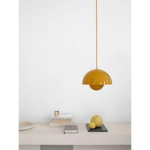 &tradition FlowerPot VP1 hanglamp-Mat zwart