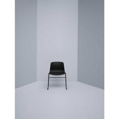 HAY About a Chair AAC08 wit onderstel stoel-Oranje