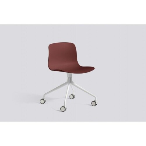 HAY About a Chair AAC14 wit onderstel stoel-Grijs