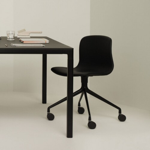HAY About a Chair AAC14 zwart onderstel stoel-Zwart