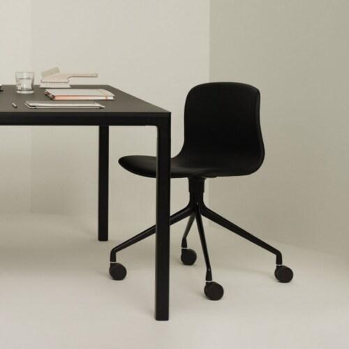 HAY About a Chair AAC14 zwart onderstel stoel-Khaki