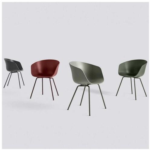 HAY About a Chair AAC26-Grijs-groen
