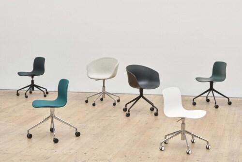 HAY AAC 15 stoel -Steelcut 190-Gepolijst aluminium