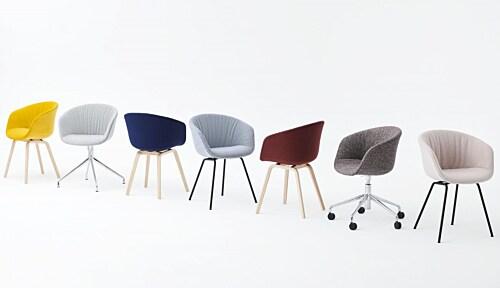 Hay AAC 53 Soft stoel-Swarm Multi Colour