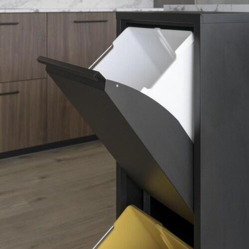 Spinder Design Gigi afvalscheider-2 vakken