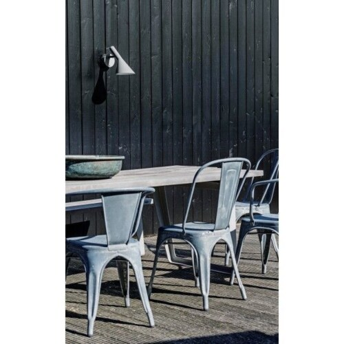 Louis Poulsen AJ 50 Outdoor wandlamp-Grijs