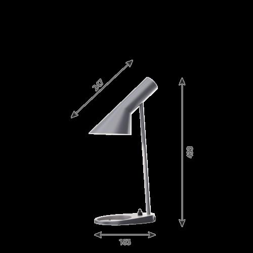 Louis Poulsen AJ Mini Tafel tafellamp-Donker grijs