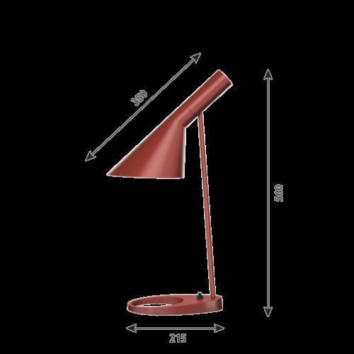 Louis Poulsen AJ Tafel tafellamp-Roest