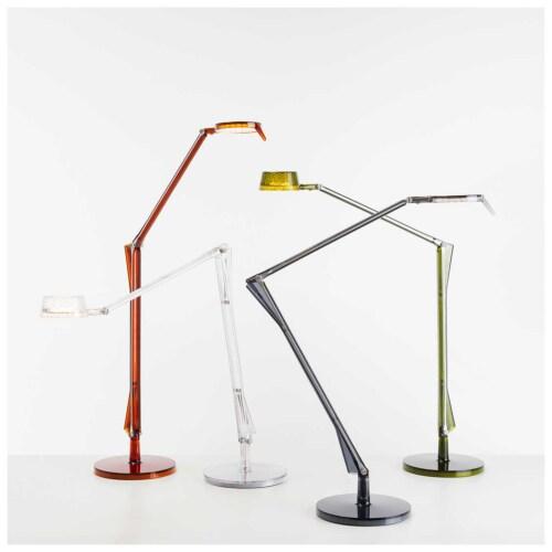 Kartell Aledin Dec tafellamp-Amber