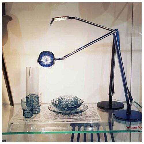 Kartell Aledin Tec tafellamp-Blauw