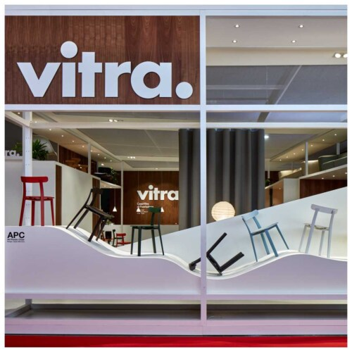 Vitra All Plastic stoel-Yellow